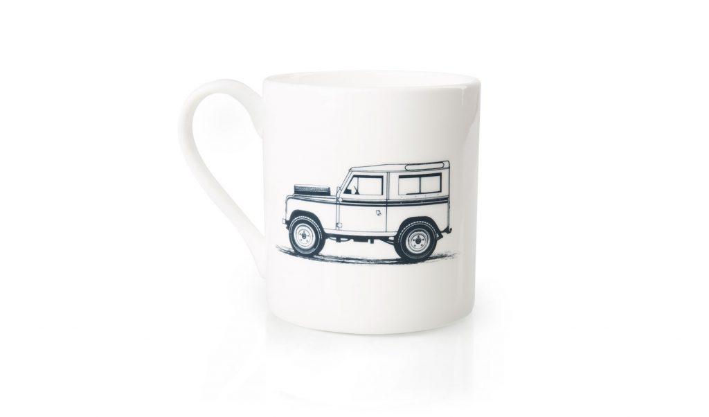 فنجان شعار هيرتج لاند روفر ديفندر
