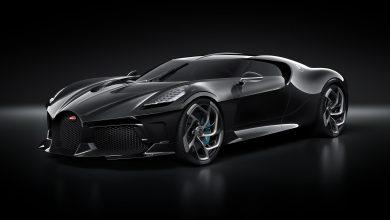بوغاتي السيارة السوداء أغلى سيارة في العالم